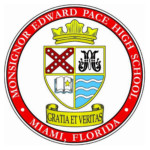 Monsignor Edward Pace 2019 High School Commencement logo