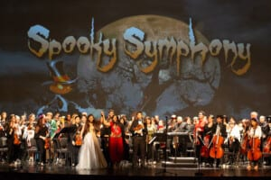 Spooky Symphony presented by The Children's Trust, performed by Alhambra Orchestra and the Greater Miami Youth Symphony